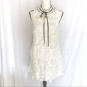 White all over Lace Dress